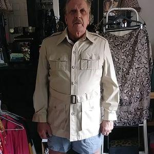 Rare Eddie Bauer safari Jacket. Size L